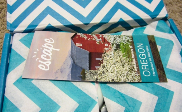 escape monthly september 2013 coastal oregon box contents