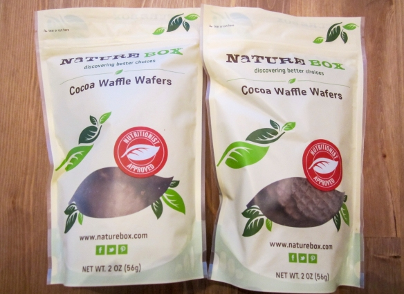 naturebox september cocoa waffle wafers