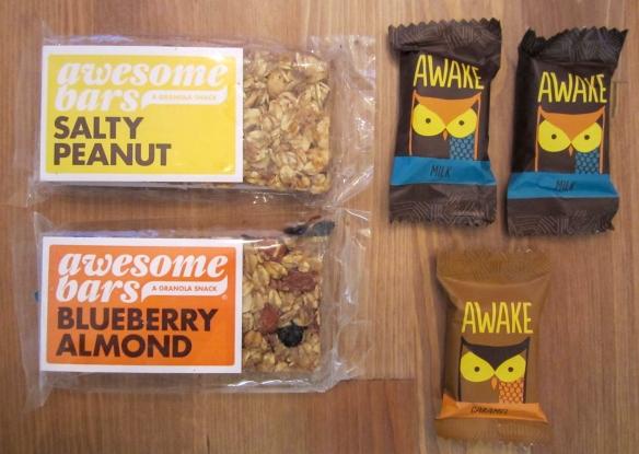 Pijon Box October 2013 Review Awesome Bars and Awake Chocolate