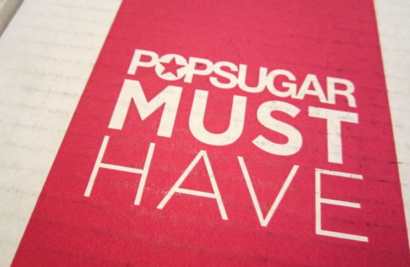 PopSugar Must Have October 2013 Review