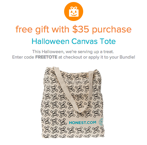The Honest Company Free Halloween Tote