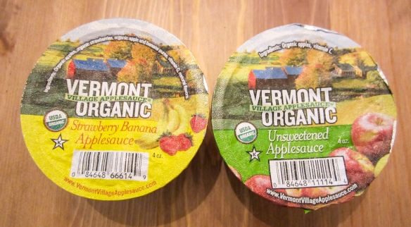 Vermont Snacks October Box Applesauce