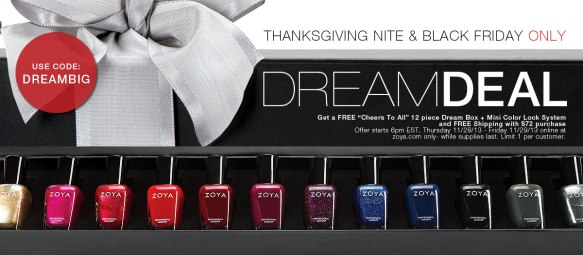 Zoya Nail Polish Black Friday 2013 Sneak Peek Deal