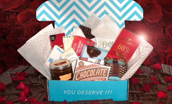 Escape Monthly Chocolates of the World Valentines Day Box