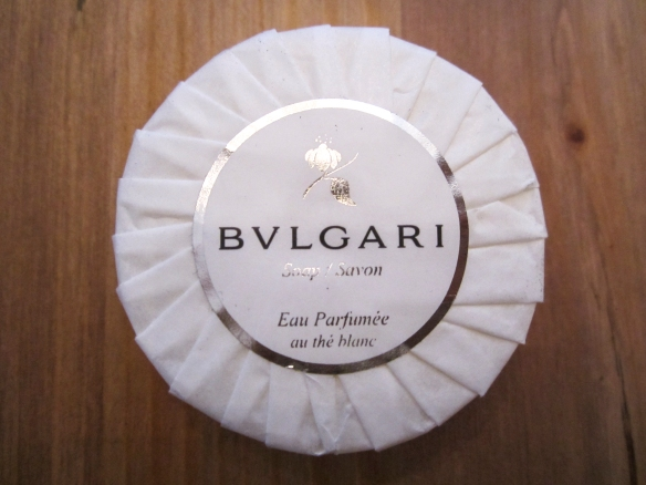 GlossyBox October 2013 with Brydie Review Bulgari