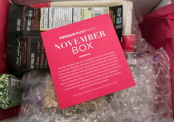 POPSUGAR Must Have November Box Review
