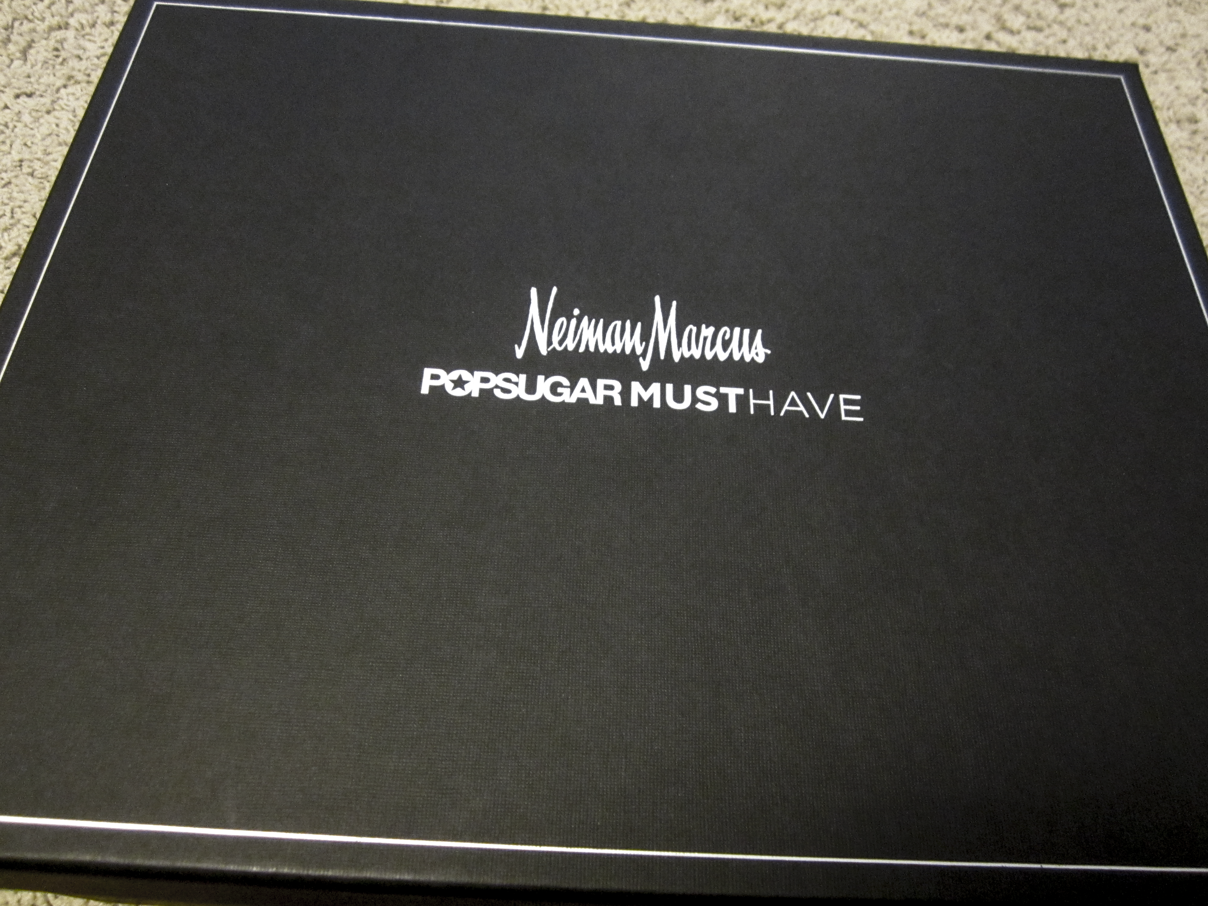 Neiman marcus credit card - Popsugar Must Have Neiman Marcus Limited Edition Box Review