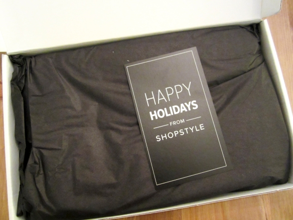 POPSUGAR Must Have Winter 2013 Special Limited Edition Box Review
