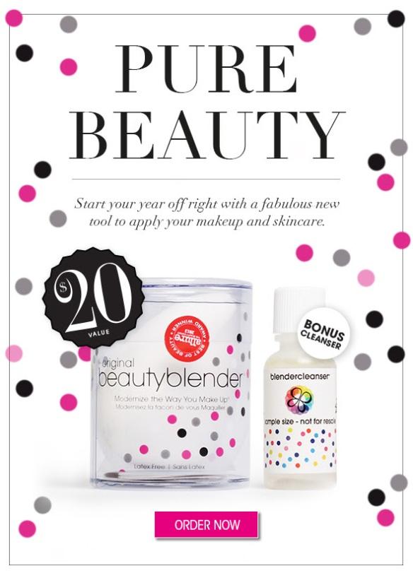 Glossybox January 2014 Sneak Peek Beautyblender Blendercleanser