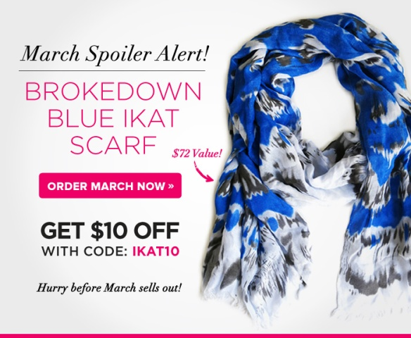 POPSUGAR Must Have March 2013 Sneak Peek plus Promo Code