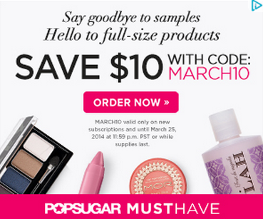 POPSUGAR Must Have Promo Code: $10 Off!
