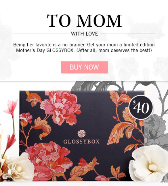Glossybox Limited Edition Mother's Day Box