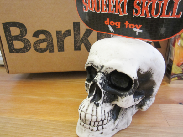 Barkbox October 2014 Review plus 10% Off Code