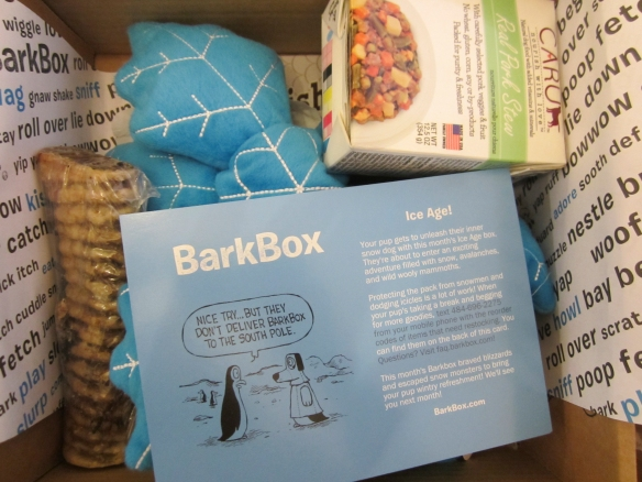 Barkbox January 2015 Review plus 10% Off Code