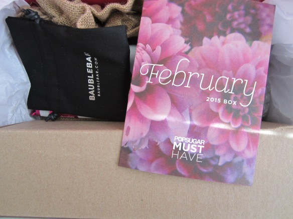 POPSUGAR Must Have February 2015 Review plus March 2015 Teaser!