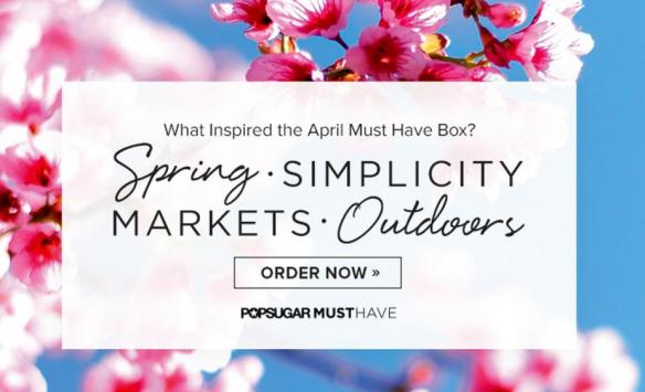 POPSUGAR Must Have April 2015 Inspiration Teaser Spoiler Sneak Peek