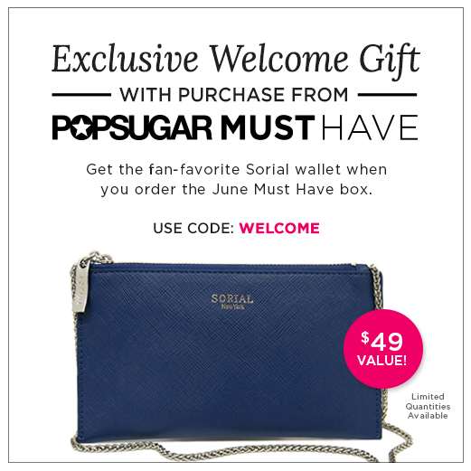 POPSUGAR Must Have Gift With Purchase Coupon