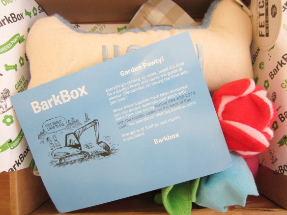 Barkbox May 2015 Review plus 10% Off Code