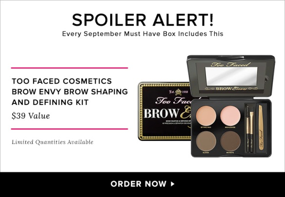 POPSUGAR Must Have September 2015 Spoiler plus Promo Code