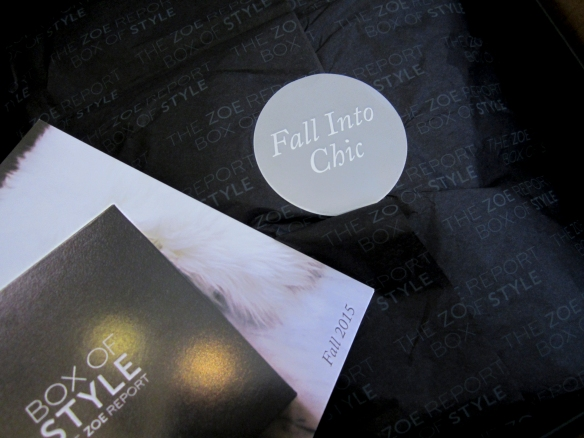 Rachel Zoe Box of Style Fall 2015 Review Plus $10 Off Code!