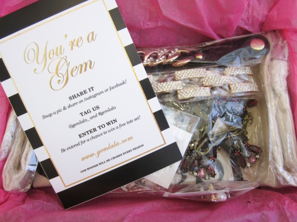 Gem La La Fall 2015 Subscription Box Review plus Promo Code