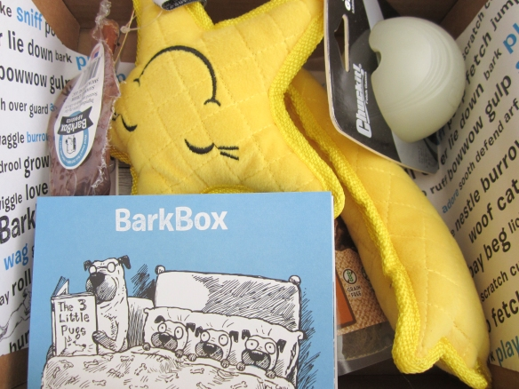 Barkbox September 2015 Review plus 10% Off Code