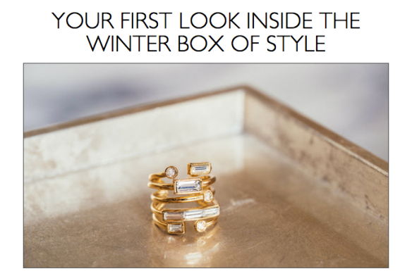 Rachel Zoe Box of Style Winter 2015 Spoiler Plus $10 Off Code!