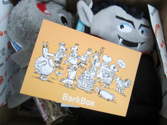 Barkbox October 2015 Review plus 10% Off Code