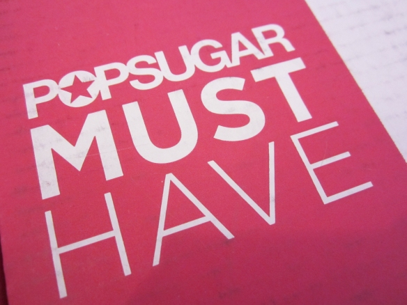 POPSUGAR Must Have January 2016 Review plus Free Gift!