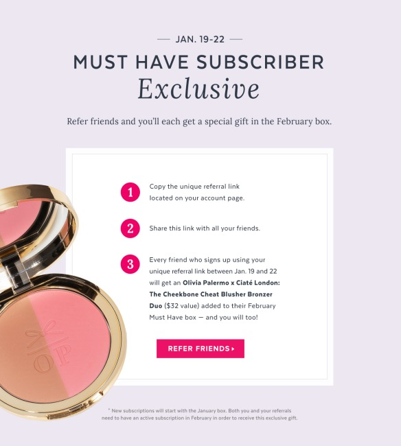 POPSUGAR Must Have Free Gift with Subscription Promo Code