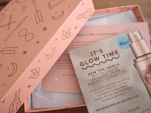 Birchbox February 2016 Review plus March 2016 Sample Options