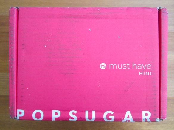 POPSUGAR Must Have Mini April 2016 Box Review!