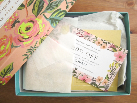Birchbox April 2016 Review plus May 2016 Sample Options