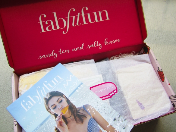 FabFitFun Summer 2016 Subscription Review plus $10 Off!