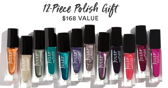 Free 12-Piece Nail Polish Set ($168 Value) with Julep Subscription!