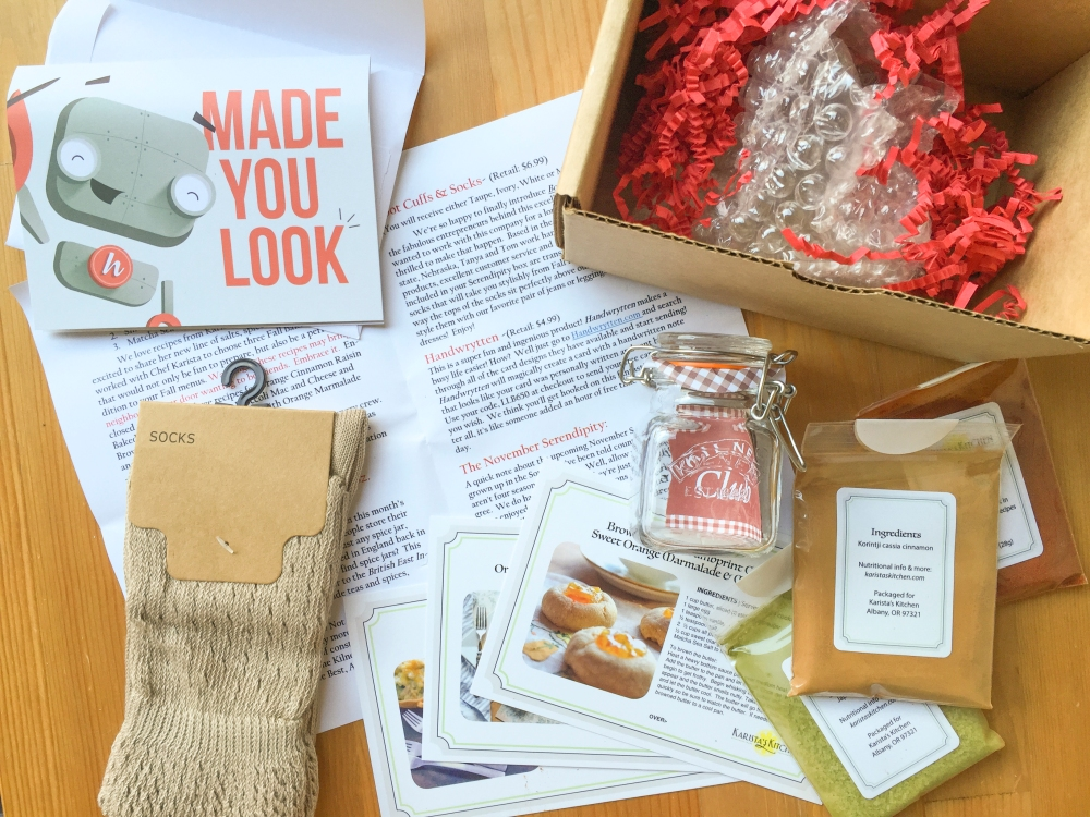 Serendipity by Little Lace Box September 2016 Box Review plus $100 Off Coupon!