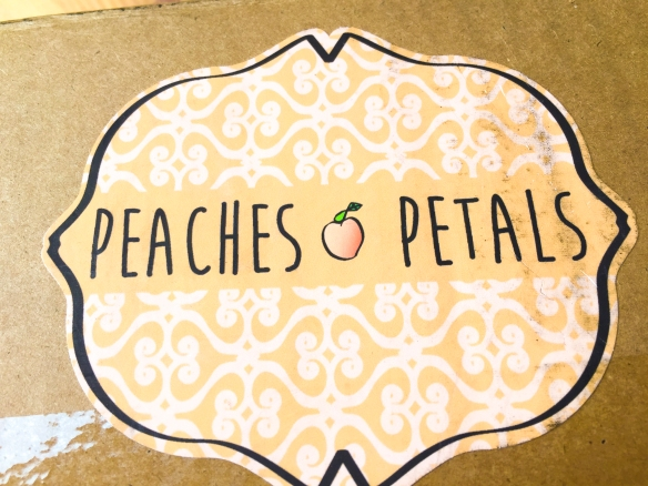Peaches and Petals October 2016 Review