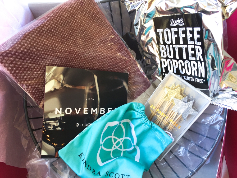 POPSUGAR Must Have November 2016 Box Review
