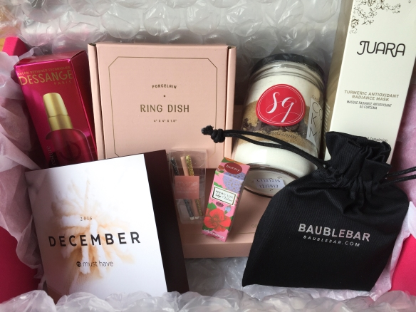 POPSUGAR Must Have December 2016 Box Review